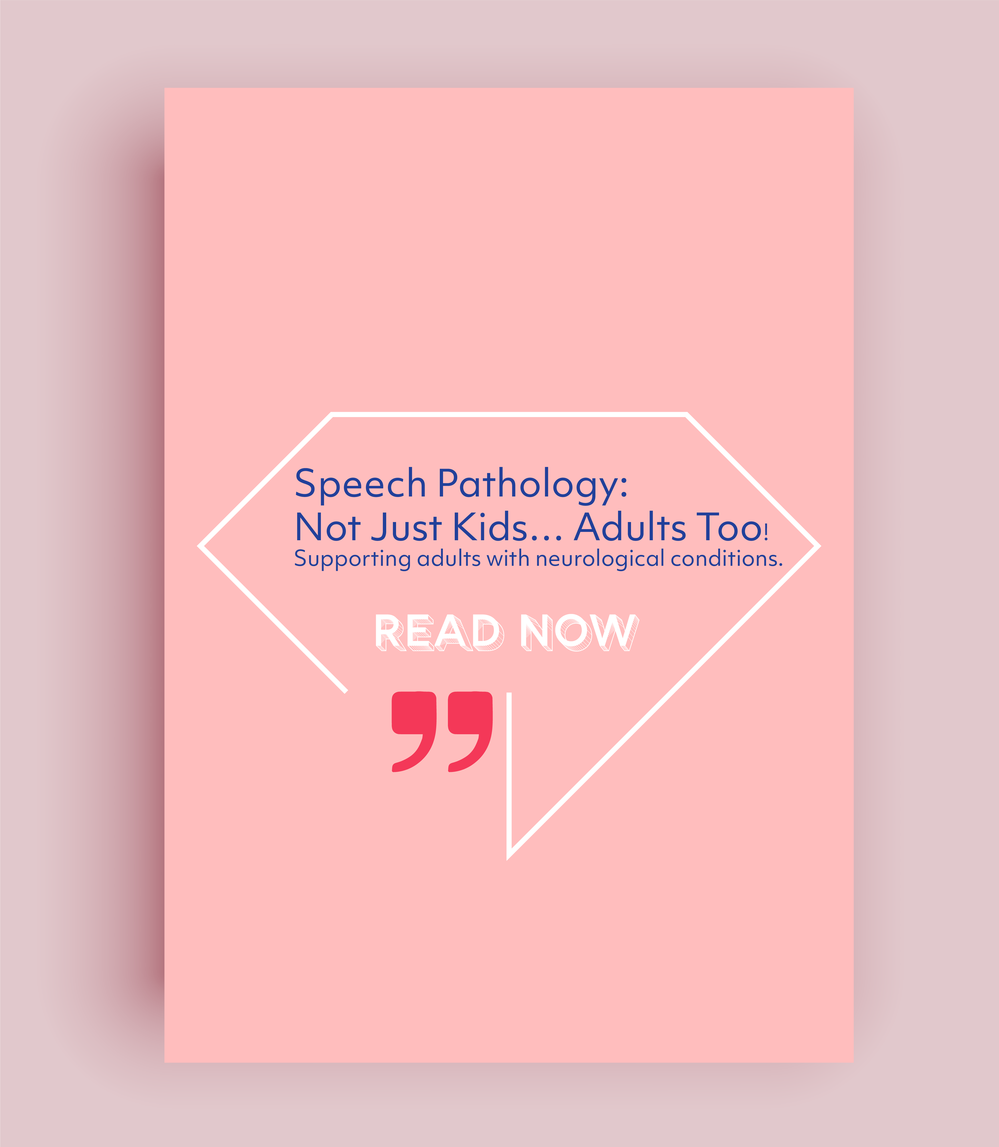 Read more about the article Speech Pathology: Not Just Kids… Adults Too!