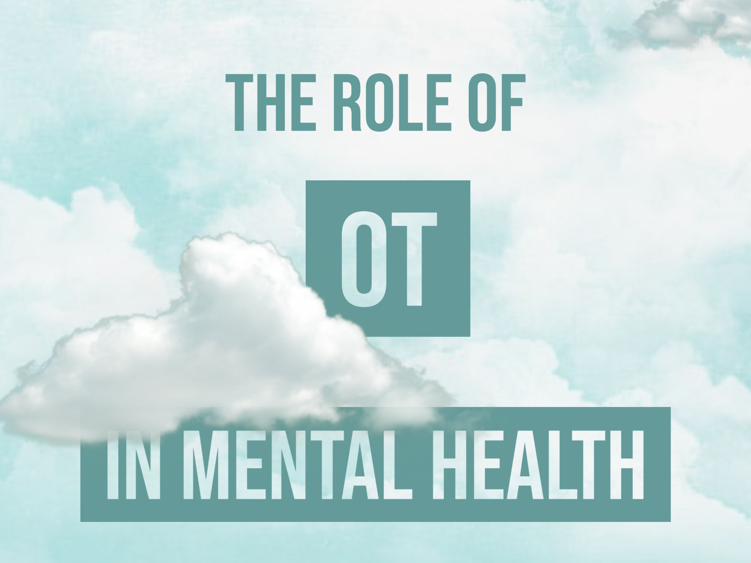 Read more about the article The Role of OT in Mental Health