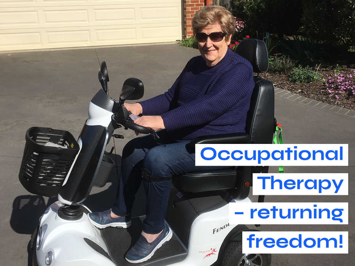 Read more about the article Occupational Therapy – Returning Freedom!